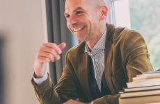 Ich liebe Papier – Florian Althans im Gespräch