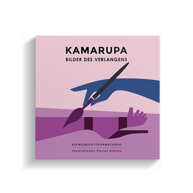Brotlos Kamarupa Malbuch