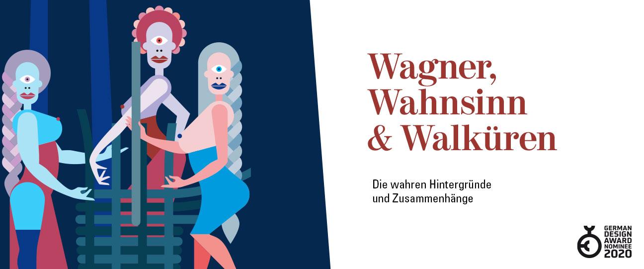 Wagner, Wahnsinn & Walküren Buch Brotlos