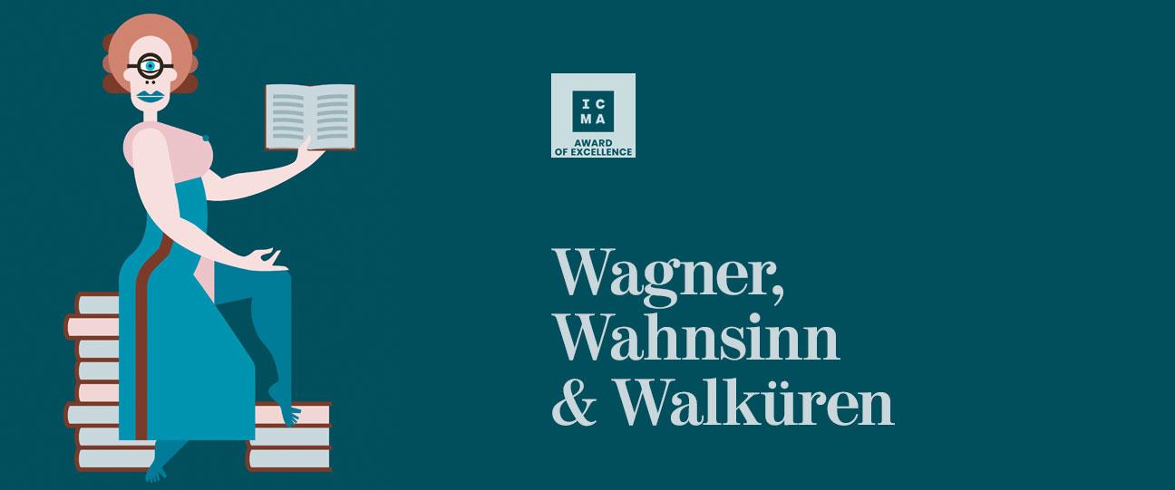 Brotlos Wagner ICMA Award Books